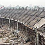 Reconstruction of Arbab Niaz Cricket Stadium in Full Swing