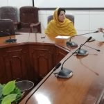 Meeting of Chief SP&GM with MPA Ayesha Bano and Chairperson Khyber Pakhtunkhwa Commission on the Status of Women