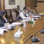 Meeting on Cadet College Spinkai South Waziristan