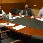 A Meeting Regarding Public-Private Partnership
