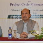 """Graduation Ceremony - Completion of Training Courses on """"Project Cycle Management"""""""