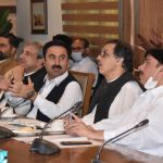 Meeting on Mega Projects in Provincial Capital Peshawar